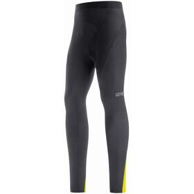 GORE WEAR C3+ Pantaloni Termici Uomo, nero/giallo
